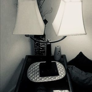 Classic Double Lampstand